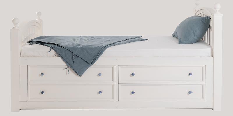 Вид кровати спереди