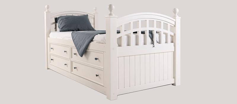 Вид кровати сбоку